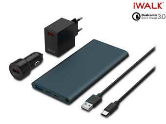 Zestaw iWalk Quick Charge 3.0