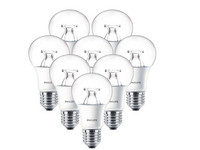8x Philips LED | 8,5 W | E27 | Dimmbar