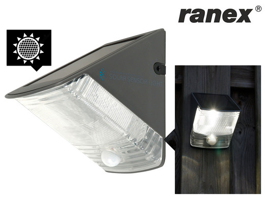 Ranex olav solar buitenlamp met bewegingssensor internet s best