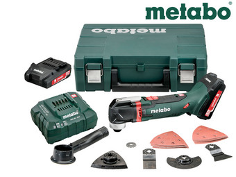 Metabo Multitool in Suitcase | 2x 18 V Battery & Charger