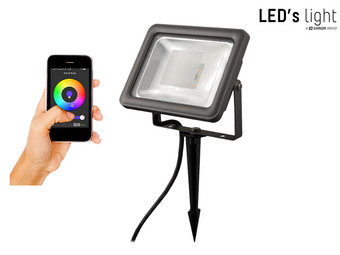 LED Floodlight  met Bluetooth