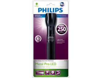 Philips LED Zaklamp met Rubberen Behuizing