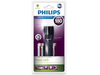 Philips LED-Taschenlampe Metall