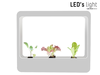 LED's light Binnenkweektuin