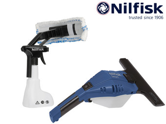 Nilfisk Smart Window Cleaner de Luxe | Met Zuigmond van 280 en 170 mm