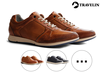 Travelin'  Leren Herensneakers
