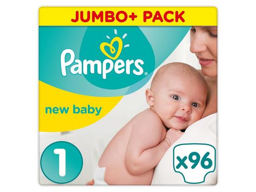 Pampers New Baby | Maat 1 | 96 stuks