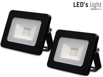 2x LED's Light LED Floodlight | 10 W | 4.000 K