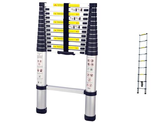 Herzberg hg 5380 teleskopleiter 3 80 m internets best online