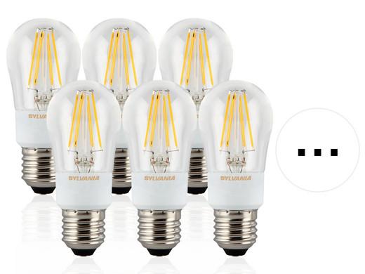 6x Sylvania ToLEDo Retro LED-Lampen - Internet\'s Best Online Offer ...