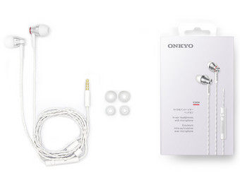 2x Onkyo E300M In-Ears