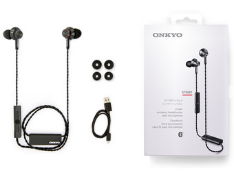 Onkyo E700 (Zwart) Bluetooth In-Ears
