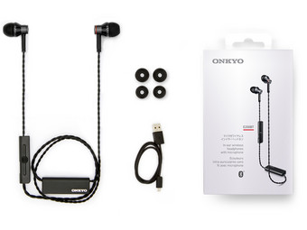 E200BT Bluetooth-In-Ears | Schwarz