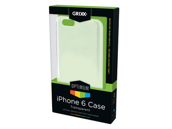 Transparante Hard Cases | iPhone 5 of 6