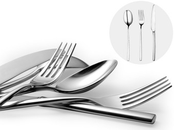 18-piece cutlery set from Broggi