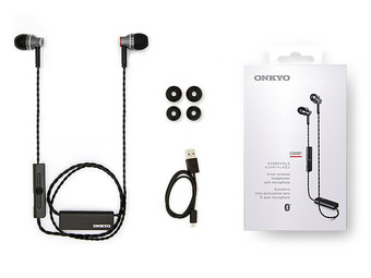 E300BT Bluetooth-In-Ears | Schwarz