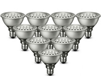 10x Philips LED-Spots | 9,5 W | E27 | 2700 K