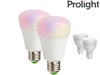 2x Prolight Bluetooth LED Lamp (E27 of GU10)