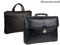 dbramante1928 Lederen Laptoptas