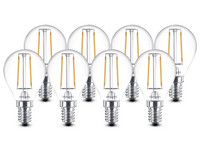 8x Philips LEDs | 2,5 W | E14 | 2.700 K