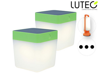 Lutec LED Tafellamp | 2x Cube of 1x Dragonfly