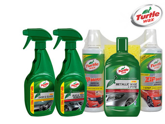 Turtle Wax Car Care Auto-onderhoudsset | 6-delig