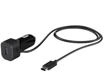 Power Car Plug met USB-C