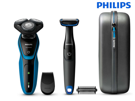 Philips AquaTouch Wet & Dry + Body Groomer op iBOOD.com