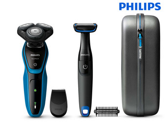 Philips AquaTouch Rasierer + Bodygroomer
