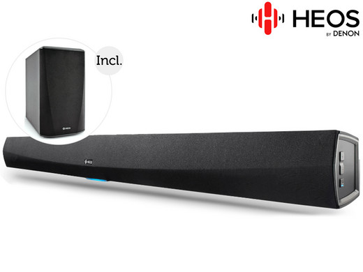 Heos by Denon 2.1 HomeCinema Set op iBOOD.com
