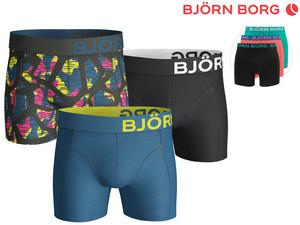 3 Björn Borg Boxershorts voor €29,95