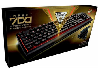 Turtle Beach USB-Gaming-Tastatur Impact 700