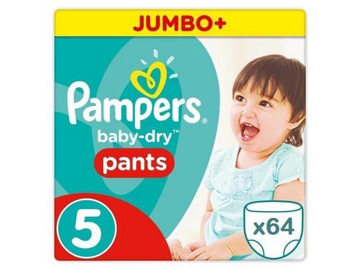 Baby Dry Pants | Maat 5 | 64 stuks