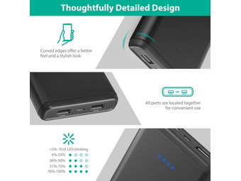 RAVPower 20.000 mAh Powerbank