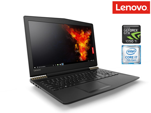 Lenovo Legion Y520 Gaming Laptop | i7 | 16 GB | GTX 1050 Ti <br/>EUR 999.95 <br/> <a href='http://affiliate.ibood.com/5/http%3A%2F%2Fwww.ibood.com%2Fnl%2Fnl%2F?tt=7152_255917_181176_&amp;r=http%3A%2F%2Fwww.ibood.com%2Fnl%2Fnl%2Fproduct-specs%2F36685%2F116803%2Flenovo-legion-gaming-laptop.html' target='_blank'>Naar de aanbieder</a>