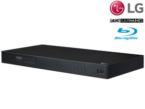 LG UBK80 Blu-ray-Player | 4K/UHD | HDR