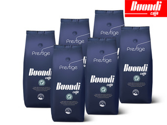 6er-Pack NESTLÉ BUONDI Prestige Sustainable Kaffeebohnen