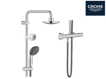 GROHE Douchesysteem + Speaker