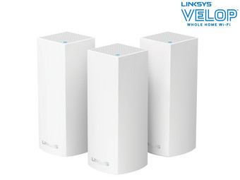 Linksys Velop Wifi Mesh Systeem | 3 Nodes