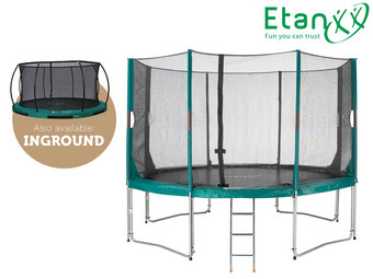 Etan Trampoline | Inground of High