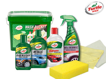 Turtle Wax, 8-teiliges Autowasch-Set