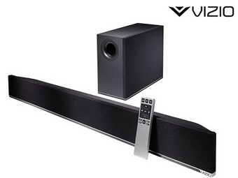 VIZIO 2.1 Soundbar & Wireless Subwoofer (Refurb.)