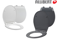 2x Allibert Mila Toilettensitz | Grau