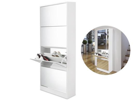 Lifa living schoenenkast met spiegel laags internet s best