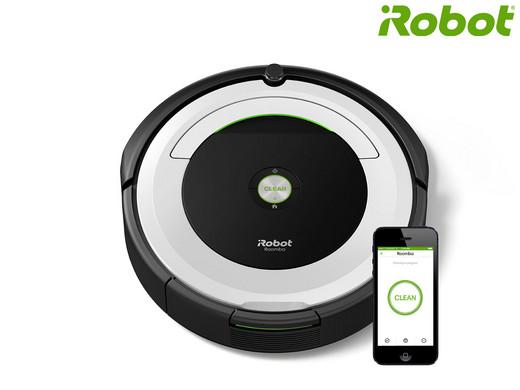 iRobot Roomba 691 Stofzuiger met Wifi <br/>EUR 299.95 <br/> <a href='http://affiliate.ibood.com/5/http%3A%2F%2Fwww.ibood.com%2Fnl%2Fnl%2F?tt=7152_255917_181176_&amp;r=http%3A%2F%2Fwww.ibood.com%2Fnl%2Fnl%2Fproduct-specs%2F38338%2F126854%2Froomba-691-stofzuiger.html' target='_blank'>Naar de aanbieder</a>
