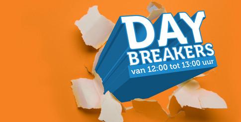 ? Daybreakers! <br/>EUR 99.95 <br/> <a href='https://tc.tradetracker.net/?c=7152&m=631562&a=181176&u=http%3A%2F%2Fwww.ibood.com%2Fnl%2Fnl%2Fflash-sales%2F38363%2F3954%2Fdaybreakers%2F' target='_blank'>Naar de aanbieder</a>