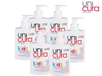 6 x Unicura Kinder Handseife