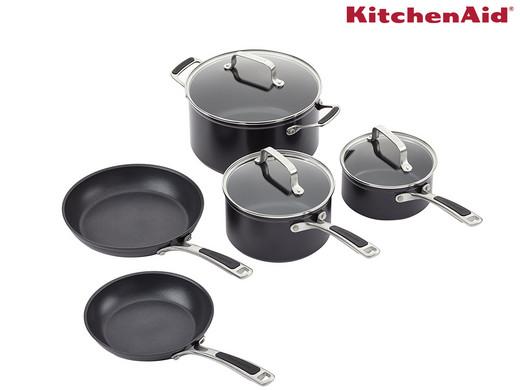 Dagaanbieding - KitchenAid Pannenset | 5-delig dagelijkse koopjes