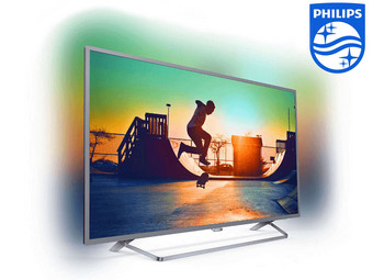 "Philips 50"" 4K Smart TV met Ambilight"