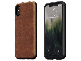 Nomad iPhone X Lederhülle | Rugged